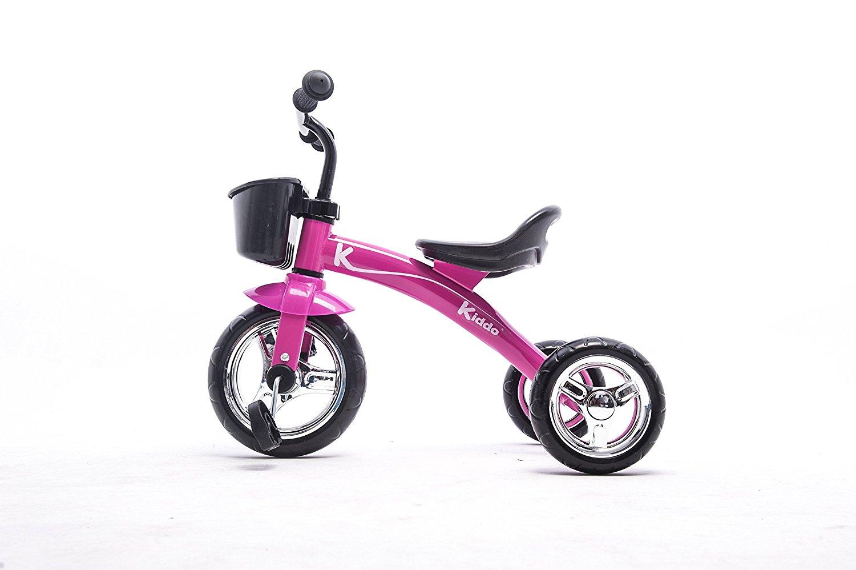 b3a865734ec Kiddo Kids Trike 3 Wheel Childrens Ride On Tricycle - Pink